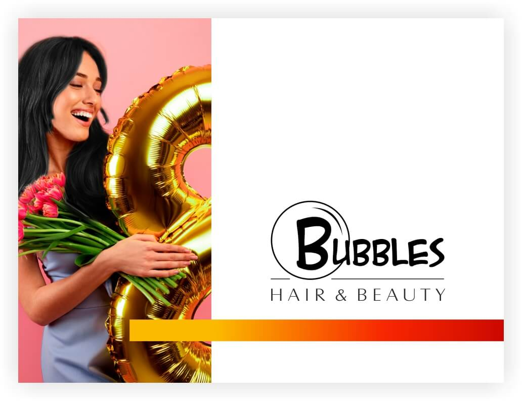 With over 13 years of experience and appreciation, Bubbles brings luxury beauty services with professional stylists & therapists for you to indulge in a soothing ambience. Soothe your senses, pamper your body and rejuvenate your soul at Bubbles Hair & Beauty Salon, part of a growing network of high-end Hair & Beauty Salons chains in India.
