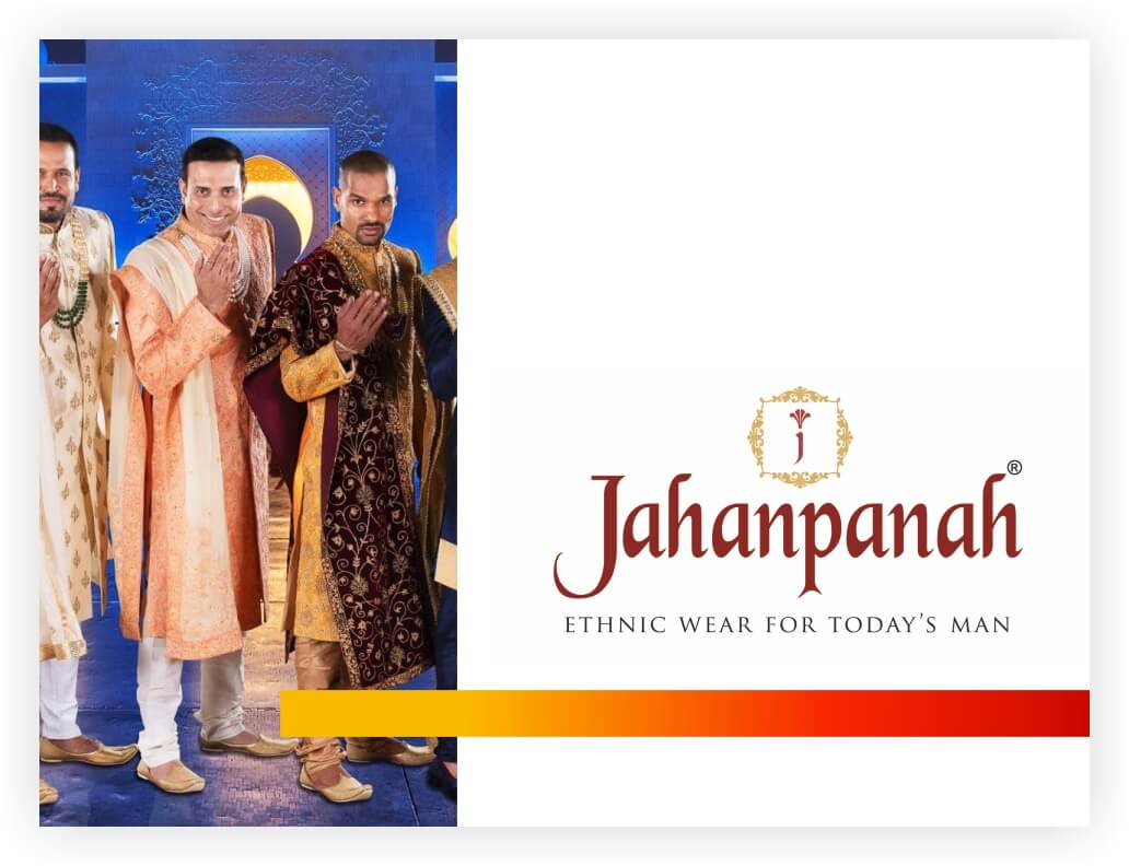 Jahanpanah is a nation-wide retail chain spreading the legacy of Men\\\\\\\\\\\\\\\'s Ethnic Wear. The brand established its humble beginnings in the 1910's. Be it the elite nobility or the commoners, they\\\\\\\\\\\\\\\'ve got something for everyone. With 20 stores across the country, they plan to expand and hit a benchmark of 50 stores by 2021.