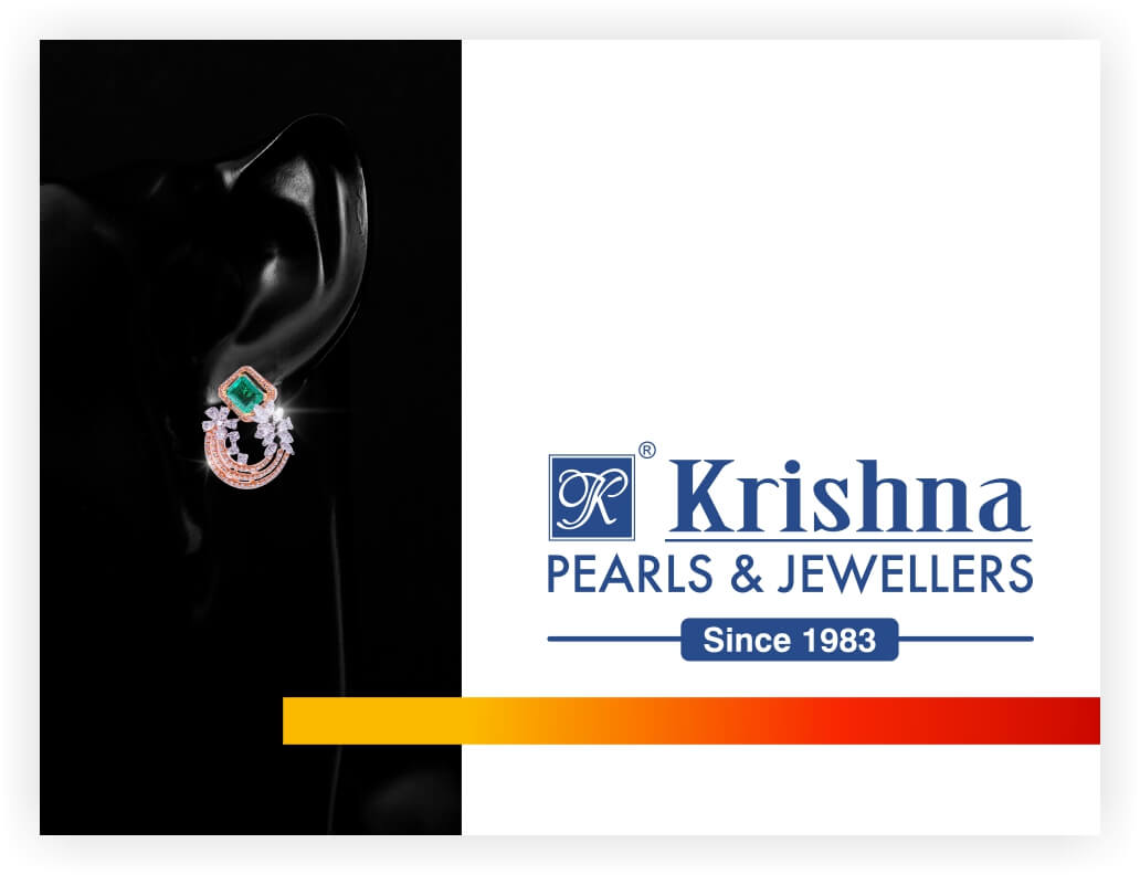 Established in the year 1983, Krishna Pearls & Jewellers is synonymous with the finest pearl jewellery collection in the country. Over the years, they have unlocked and mastered the secret of creating superior jewellery designs and added the collection of diamonds jewellery studded with colour stones (Precious and Semi-precious).