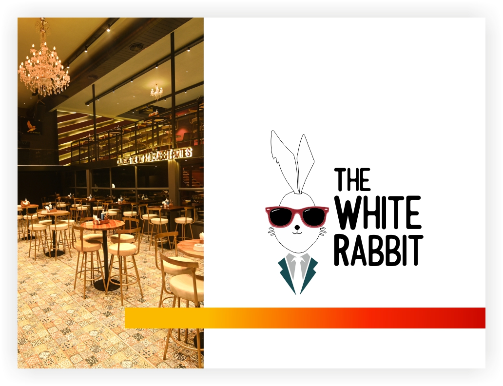 The White Rabbit is a nightclub & lounge in Hyderabad. It has been winning the hearts of party-goers with its Hindi & regional live music gigs, eccelctic ambience, handcrafted cocktails, and sumptuous food.