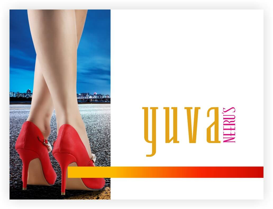 Yuva is a fusion footwear brand by the ethnic fashion wear leaders, Neeru\\\\\\\'s. The brand blends the best of western and ethnic footwear.