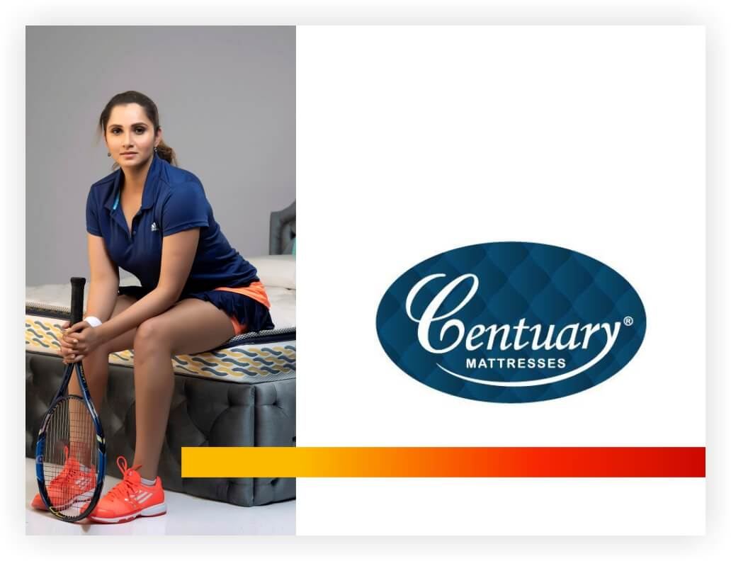 Centuary mattress is one of India's leading mattress brands. The company's range of specially designed mattresses includes best spring mattress, Foam Mattress, Coir Mattress and also pillows, cushions and comfort accessories. We stand out as the best mattress brand in terms of quality and durability. Sizes available are standard single bed mattress, double bed mattress, King size, customized and queen size mattress are available easily and quickly.