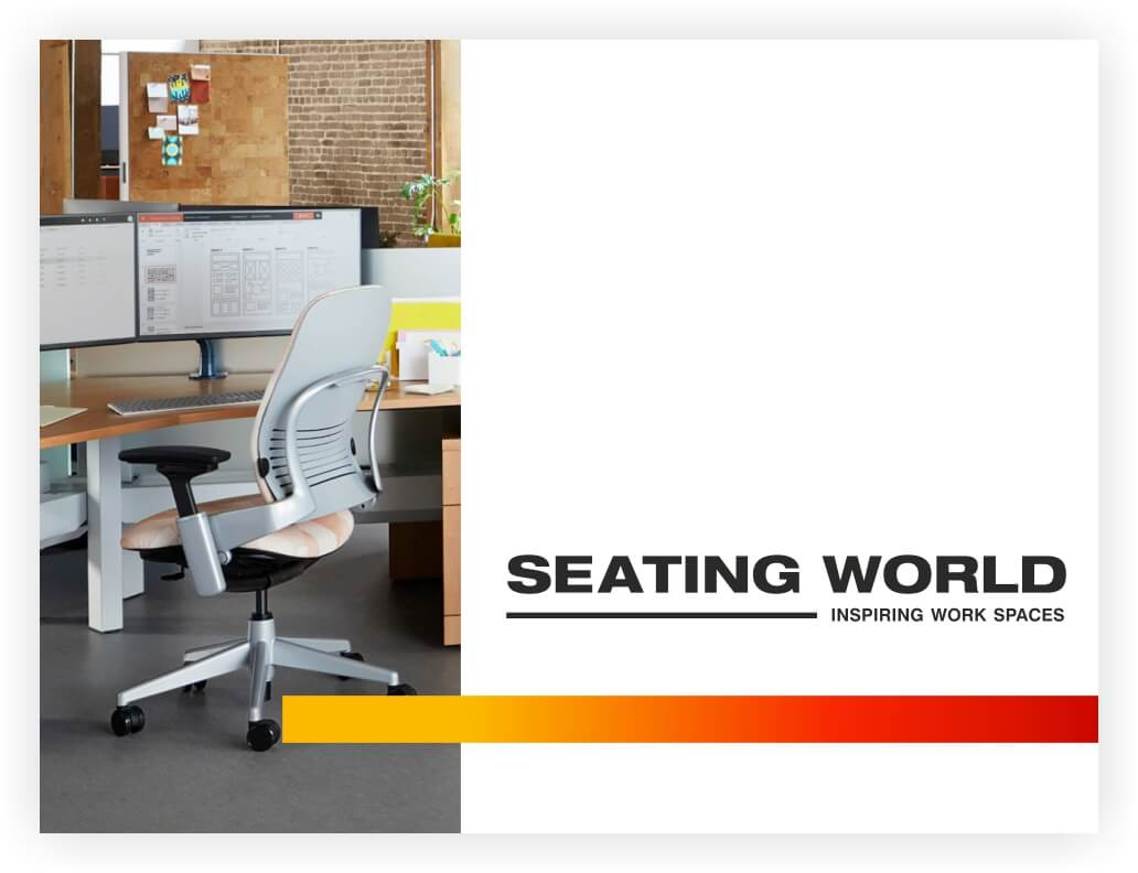 Seating World is one of the most renowned office furniture brands in South India. Incepted in 1998, the brand has evolved into a preferred partner for bespoke office furniture & interiors by the biggest MCs in the country.