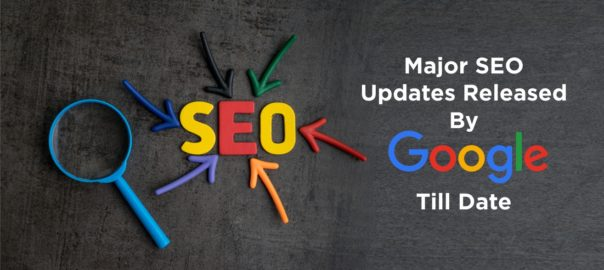 Major SEO Updates Released By Google Till Date